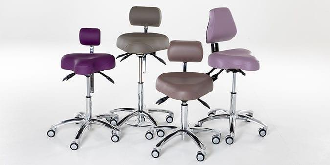 Ergonomische zadelkruk - De juiste bureaustoel vinden