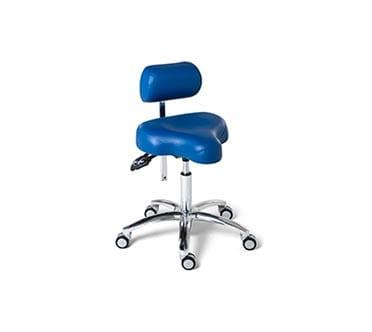 Ergonomische werkstoel - ErgoSolex blauw
